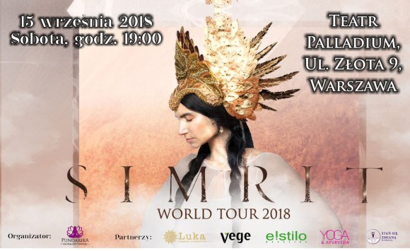 KONCERT SIMRIT – WORLD TOUR 2018